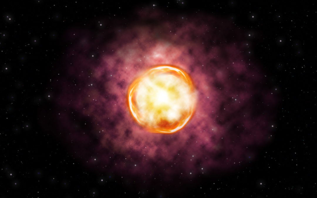 Explosion of massive star forces supernova rethink