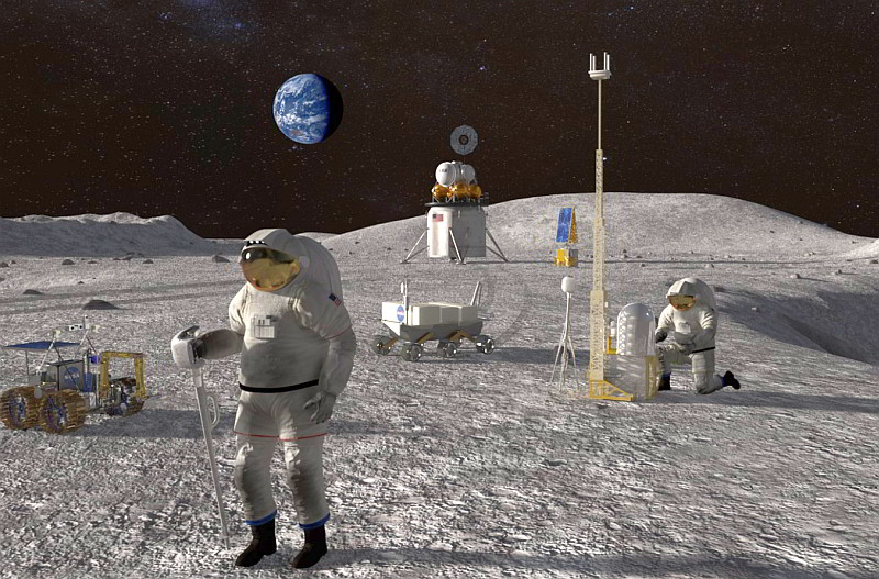Canberra boosts space funding for Moon missions