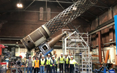 Great Melbourne Telescope refurbishment reaches milestone
