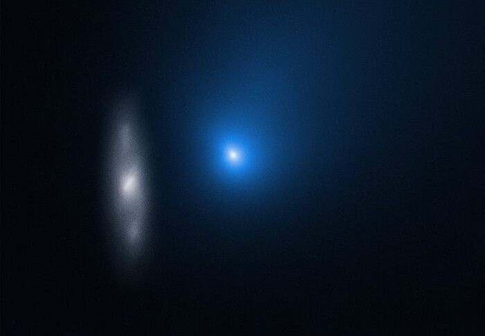 Hubble snaps comet Borisov on its outward journey