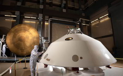 Mars 2020's protective cocoon nears completion