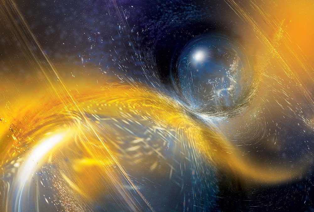 Neutron star crash likely formed a new black hole