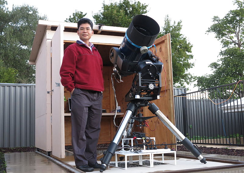 Aussie amateur wins prestigious astronomy medal