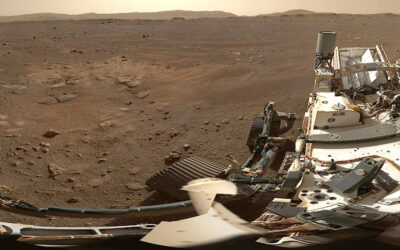 Panoramic images from new Mars rover
