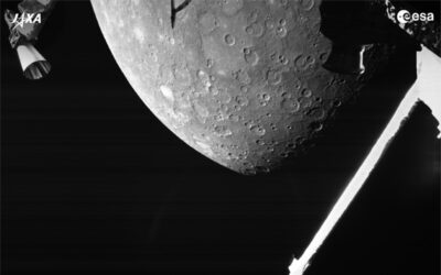 BepiColombo makes its first flyby of Mercury